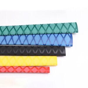 Non-Slip Heat Shrink Textured Heatshrink Tube 15-25mm Sleeving Handle Grip Wrap