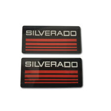 For Chevy Silverado Emblems 88 98 Side Bodycab Pickup Truck Badges Sign Logo