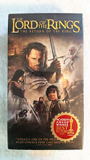 The Lord of the Rings: The Return of the King VHS 2-Tape Set Sealed