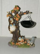 YANKEE CANDLE OWLS HANGING TART BURNER NWTS
