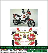 kit adesivi stickers compatibili  elefant 750 e lucky ex marathon