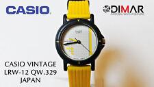 VINTAGE CASIO  LRW-12  QW.329 JAPAN,  Ø.DE CAJA 26mm,  RETRO AÑO 1984