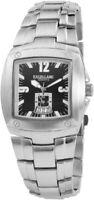 Excellanc Herrenuhr Schwarz Silber Analog Datum Metall Armbanduhr X284021000129