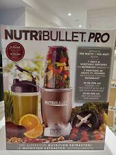 NUTRIBULLET PRO 900 WATTS BULLET BLENDER - 9 PIECE SET - NEW