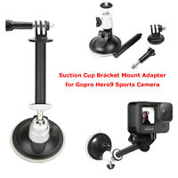 Car Holder Suction Cup Mount Adapter Driving Recorder For Gopro Hero 9 Camera