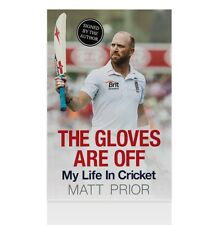 Matt Prior Signed Book - The Gloves Are Off  Autograph