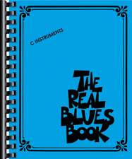 """The Real Blues Book"" C Instruments-FAKE BOOK-MUSIC BOOK-480 PAGES-NEW ON SALE!!"