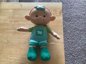 Cloud babies  toys baba green 7inches Vivid toy group collectable