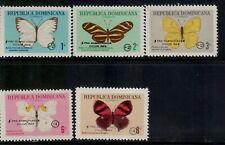 Dominican Republic,Scott#B47-B51,Mn h,Scott=$56