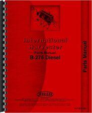 International Harvester B-275 Tractor Parts Manual