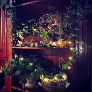 LED Strip Light Copper Wire String Lamp Glass Wine Bottle Fairy Party Decor JA