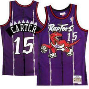 Vince Carter Toronto Raptors Mitchell & Ness Hardwood Classic Swingman Jersey