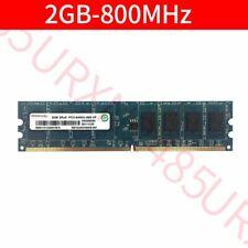 For Ramaxel 2GB 2G PC2-6400U DDR2-800MHz 240pin Desktop DIMM RAM intel Memory UK