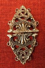 Cloak Clasp Cape Clasps Medieval Celtic Viking Gold SCA King Knight Mantle Robe