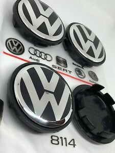 4x OEM GENUINE BRAND NEW VW Volkswagen Wheel Center Caps 3B7601171 4 PCS SET