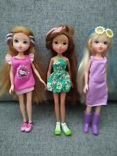 3 x Moxie Girlz Dolls 2009 Bundle Joblot