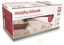 Morphy Richards lavable doble polar Eléctrico Térmico Calefactado Manta Bajera