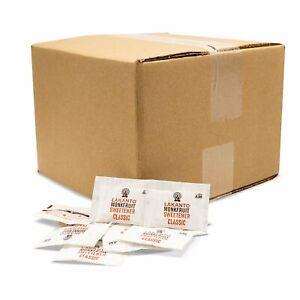 LAKANTO MONK FRUIT SWEETENER CLASSIC STICK PACK BULK 50 -3g PK AUTHORIZED SELLER