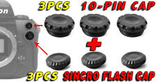 3PCS 10-PIN CAP SYNC FLASH COVER REMOTE CONTROL MC-30 CAMERA NIKON D300 D300S 3X