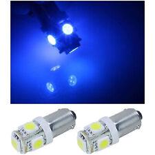 (2) 55-72 Chevy Blue 5-LED Inside Dash Panel Cluster Gauge Glove Box Light Bulbs