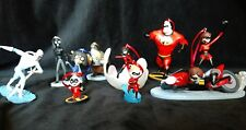 Disney Incredibles 2 Christmas Ornament set of 10- Violet Dash Jack Jack Edna