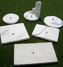 1/35 Scale Assorted Display Bases (pack of six)