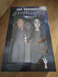 Living Dead Dolls Presents The Addams Family Morticia & Gomez Doll Set