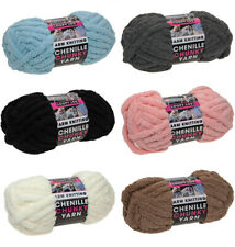 37m Loopy Lou Arm Knitting Super Chunky Luxury Knitting Yarn CHENILLE 6 COLOURS