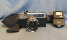 Yashica MG-1 Film Camera and CS-14 Flash