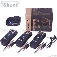 30m-Remote Wireless Flash Trigger PT-04 for Canon Nikon Pentax & studio strobe