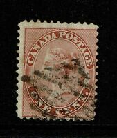 Canada SG# 30 - Used (Appears Deep Rose) - Lot 071617