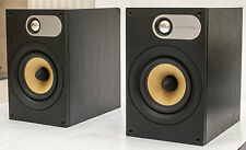 ! NEUF Nautilus tweeters! b&w 686 BOWERS WILKINS Bookshelf Speakers 100 W.