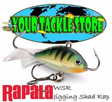 Rapala WSR 02 03 05 Jigging Shad Rap You Pick Colors Size & Quantity NIP