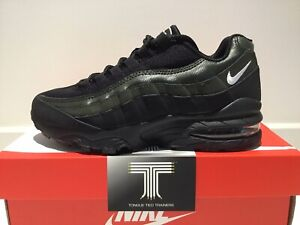 Nike Air Max 95 Essential (GS) ~ AV1829 001 ~ Uk Size Youth 4.5 ~ Euro 37.5