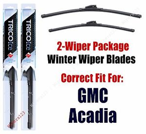 WINTER Wipers 2-pack fits 2007+ GMC Acadia 35240/210