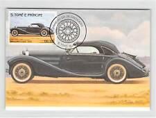 S.TOME MK AUTOS OLDTIMER MERCEDES COUPE 1936 CARS CARTE MAXIMUM CARD MC CM m256