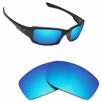 Scratch Proof Replacement Lenses for-Oakley Fives Squared Ice Blue Polarized