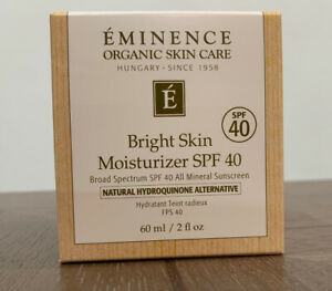 Eminence Bright Skin Moisturizer SPF 40 2oz
