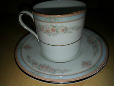 """VINTAGE AYNSLEY """"PRINCESS"""" COFFEE CUP/CAN AND SAUCER - PERFECT"""