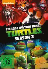 4 DVDs * TEENAGE MUTANT NINJA TURTLES - STAFFEL / SEASON 2  ~ MB # NEU OVP +