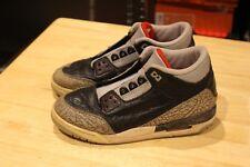 Nike Air Jordan III 3 Black Cement 1994 Size 3.5 3.5Y Vintage 90s 153125 001 VTG