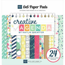 ECHO PARK PAPER CO. 6 X 6 PAPER PAD CREATIVE AGENDA 24 SHEETS