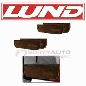 Lund Door Interior Trim Panel Set for 1975-1986 Chevrolet C10 - Body Doors  qg