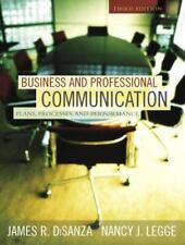 BUSINESS N PROFESSIONAL COMMUNICATION PLANS, PROCESSES N PERFORMANCE 3RD EDITION