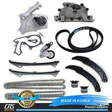 GENUINE 06-10 For Hyundai Kia 3.3L 3.8L Timing Chain Full Kit w/ Belt Tensioner