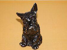 """VINTAGE 5"""" HIGH SCOTTISH TERRIER METAL DOG COIN BANK"""