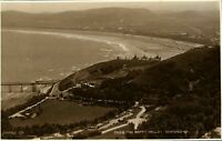 The Happy Valley Llandudno RPPC antique real photograph postcard North Wales