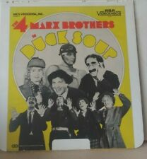 Duck Soup - (Ced - Capactiance Electronic Disc) 1933 - Marx Brothers