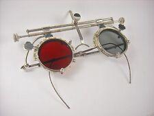 Antique optometrist trial lens frame. Steampunk eyeglasses.