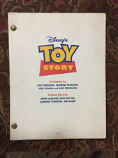 TOY STORY, 1995, Disney - 126 pg - This is the original script, 4-color cover